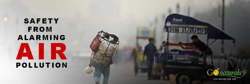 ARE YOU BREATHING POLLUTED AIR ?